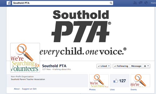 The Southold PTA's Facebook page. (Credit: Screenshot captured by Jennifer Gustavson)