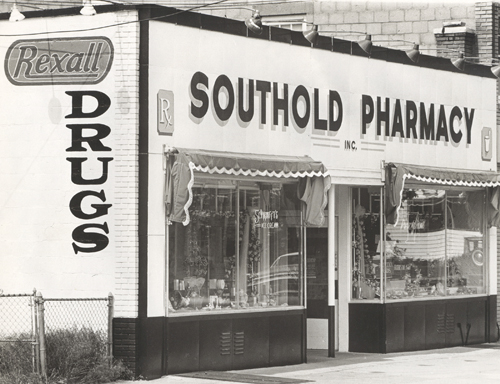 SOUTHOLD PHARMACY COURTESY PHOTO | The pharmacy soon after it opened in 1963.