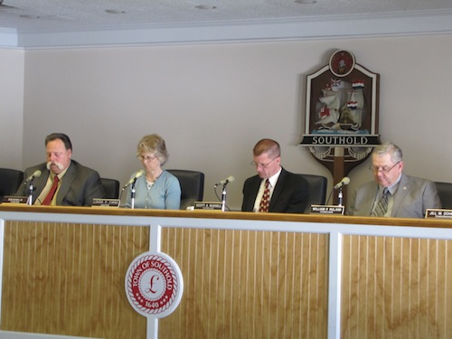The board voted in favor of hiring Stephen Kiely to work ing the town attorney's office Tuesday. (Cyndi Murray photo)