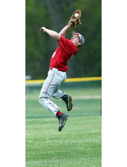 Southold baseball player Dylan Clausen 053116