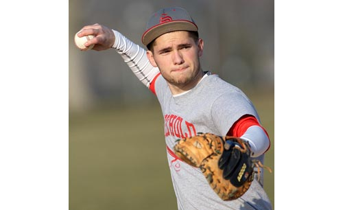 Southold baseball player Greg Gehring 051716