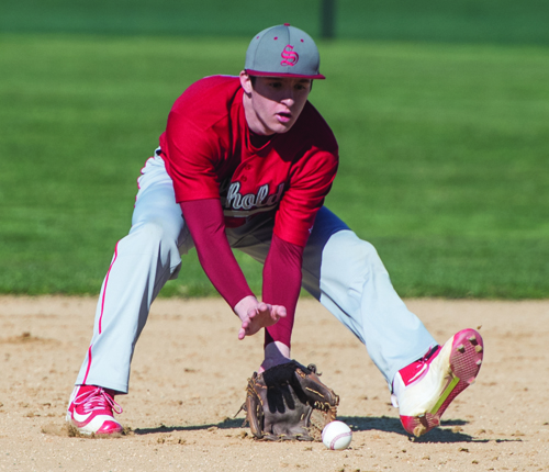 Southold baseball player Joe Hayes 050316