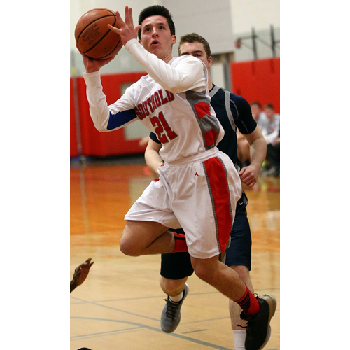 Southold basketball player Noah Mina 011916