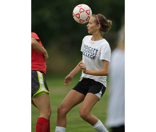 GARRET MEADE PHOTO | Cindy Van Bourgondien, a four-year varsity player for Southold/Greenport, has yet to play in a playoff game.
