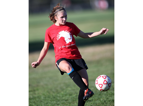 Southold:Greenport soccer player Haley Brigham 082316