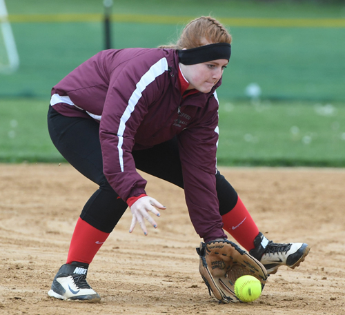 Southold:Greenport softball player Hannah Sutton 050516
