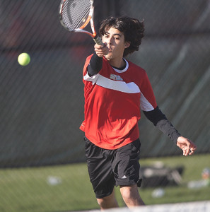 GARRET MEADE FILE PHOTO | Devyn Standish is the early favorite to emerge as Southold/Greenport's new first singles player.