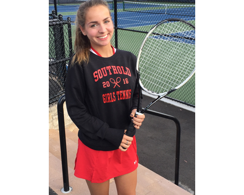 Southold:Greenport tennis player Sarah Jannazzo 092716