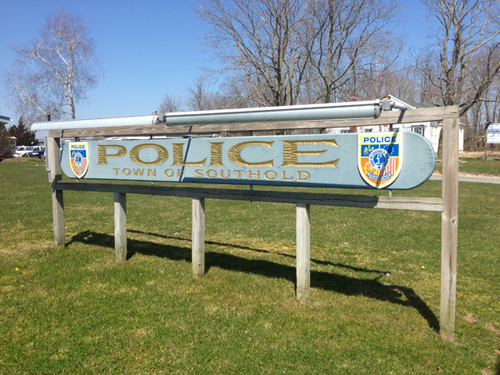 SoutholdPD Sign - Spring - 500