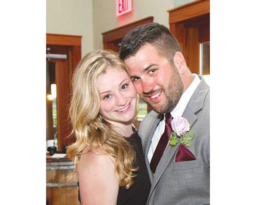 Erin Van Etten and Joseph Macari.