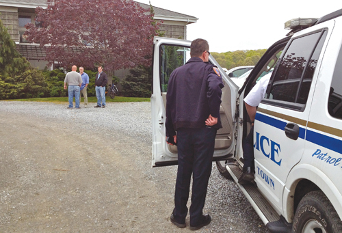 GIANNA VOLPE FILE PHOTO | Southold Police Chief Martin Flatley has twice testified before the New York State Liquor Authority about complaints the department has received on Vineyard 48 in Cutchogue.