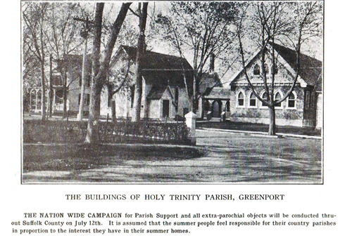 COURTESY PHOTO  |  The Church of the Holy Trinity as it appeared in 1921.