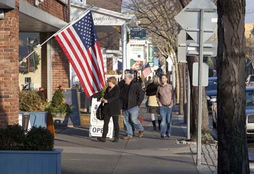Commercial vacancies in Greenport have decreased nearly 6 percent over the past five years, leading the way among similarly sized Long Island downtowns. (Credit: Katharine Schroeder, file)