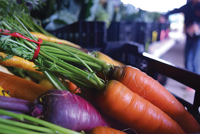 Under the current code, Southold Town farmers can mostly just sell their crops as-is to retail or wholesale customers. (Credit: Vera Chinese)