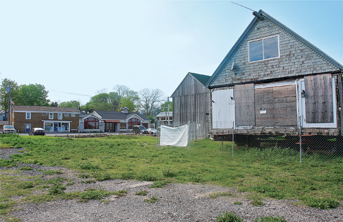 The former Galley Ho restaurant in New Suffolk. (Credit: Barbaraellen Koch, file)
