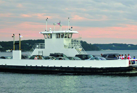 TIM KELLY FILE PHOTO | The North Ferry transports folks from Greenport to Shelter Island.