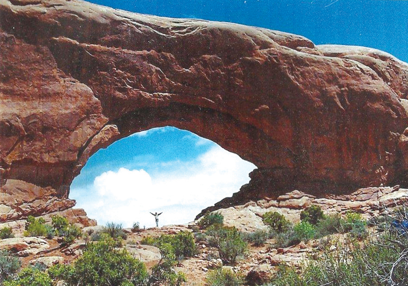 Paul Stoutenburgh once wrote in his 'Focus on Nature' column that standing beneath the Great Arches of Utah made him feel 'humble and proud of this great country of ours.'