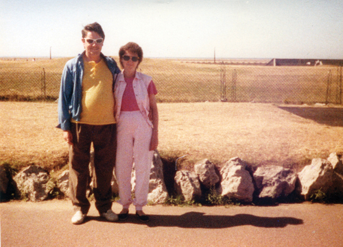 Helen Chalmers (pictured with her husband, Edward) has become something of a mystery to several community groups on the North Fork since she left them her life savings. (Credit: The Chalmers Estate)