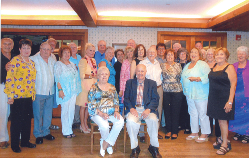 he Greenport High School class of 1964 (pictured) celebrated the 50-year anniversary of its graduation Friday night with dinner and dancing at Townsend Manor. (Credit: Katharine Schroeder)