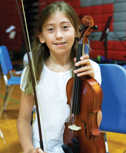 KATHARINE SCHROEDER PHOTOSofia Bartolani, age 10 of Southold.