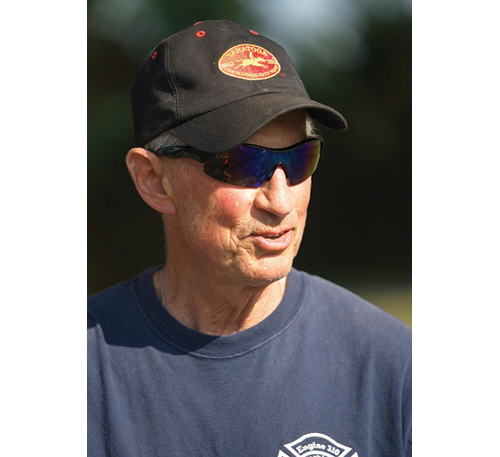 Jim Christy coached tennis for 33 years. (Credit: Garret Meade)