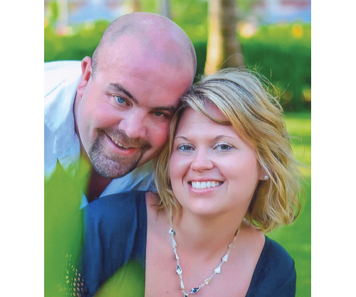 Timothy Gorman and Angela Paladino