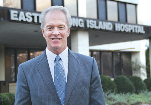 CARRIE MILLER PHOTO  |  Eastern Long Island Hospital CEO Paul Connor.