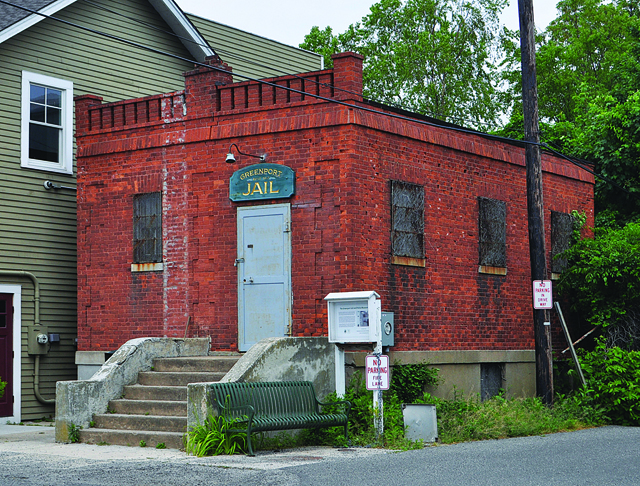 Greenport Jail is going to become a police museum. (Credit: Rachel Young)