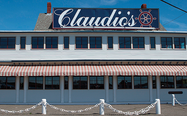 Claudio's in Greenport. (Credit: Tina Volinski)