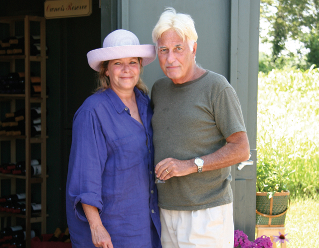 Barbara and Dr. Charles Smithen. (Credit: Long Island Wine Press file photo)