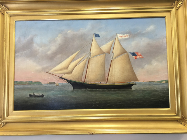 """The Annie Lewis"" painting by artist Joseph B. Smith is the most expensive painting in the Southold Historical Society's art auction on Saturday. The painting has a starting price of $48,000."