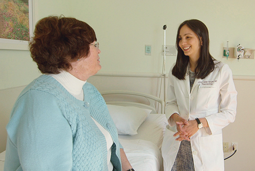 Dr. Jenny Cabas-Vargas, a rheumatologist at Peconic Bay Medical Center, now treats patients at PBMC Health's new Tick-Related Disease Center, which opened in Manorville in May. (Credit: PBMC courtesy photos)