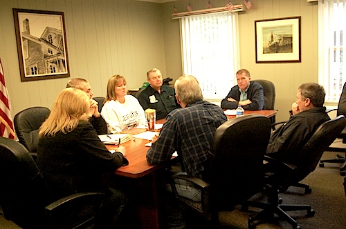 Southold board members ratified a new union contract Friday. (Cyndi Murray photo)