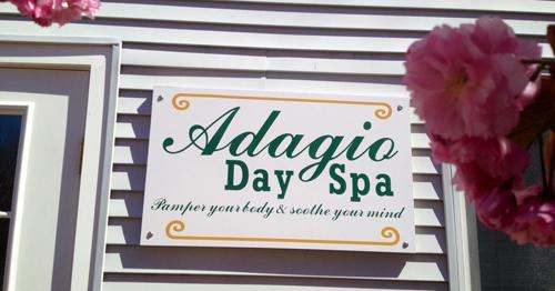ADAGIO DAY SPA COURTESY PHOTO   Adagio Day Spa will open May 9 in Cutchogue.