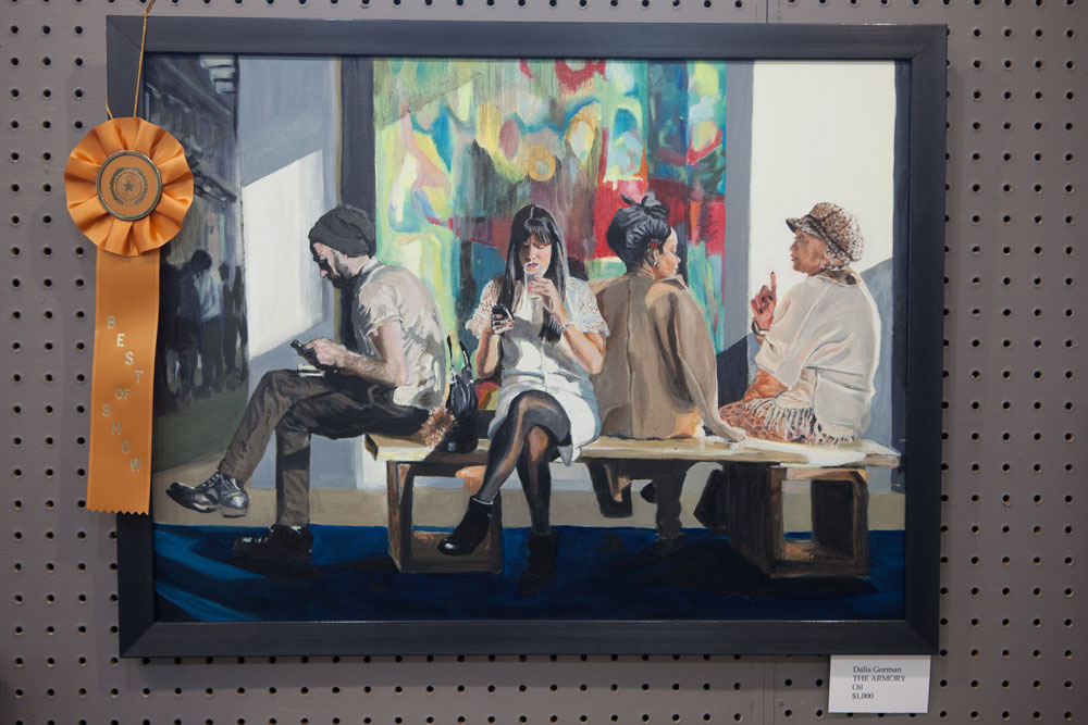 "Best in Show winner ""The Armory"" by Dalia Gorman."