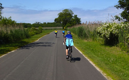 GLEN GOLDSTEIN COURTESY PHOTO  |  For-profit events such as the North Fork Century ride (pictured) are no longer allowed in Southold Town.