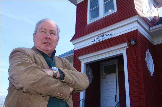 Christopher Gallagher retired in 2008 after serving as the Southold superintendent for eight years. (Credit: Barbaraellen Koch)