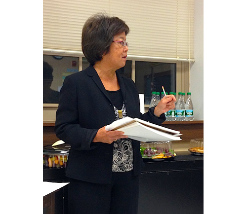 CYNDI MURRAY PHOTO | Greenport school's business administrator Diana Duell said the district's reserve balance is rebounding.
