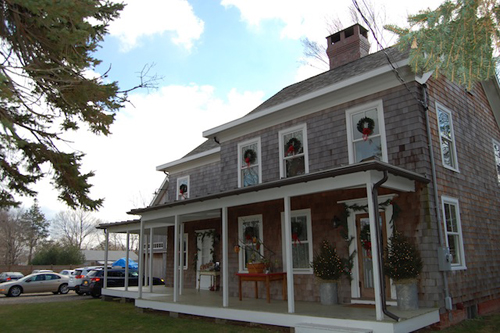 DANIELLE DOLL PHOTO | The Farmhouse Bed and Breakfast was a featured stop on the Cutchogue Holiday House Tour.