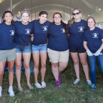 Some of the many volunteers. (Credit: Katharine Schroeder)