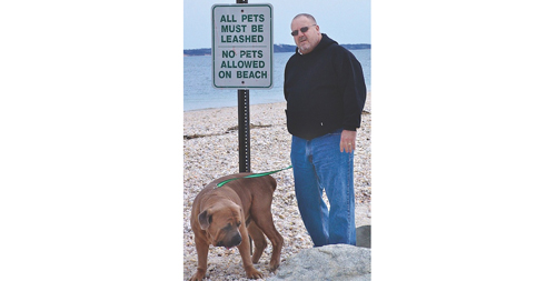FILE PHOTO | The confusion surrounding the leash law in Southold Town has been cleared up under the new draft law, officials said.