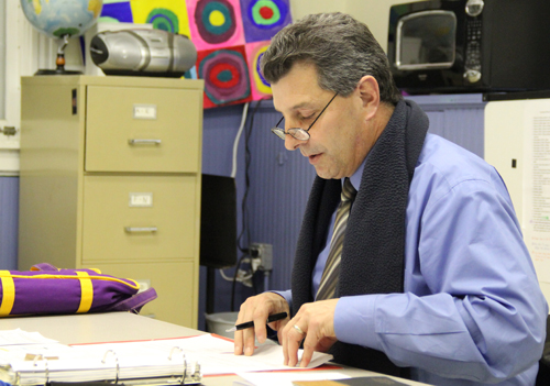 District Superintendent Michael Comanda, seen here in 2013, has resigned. (Credit: Carrie Miller, file)