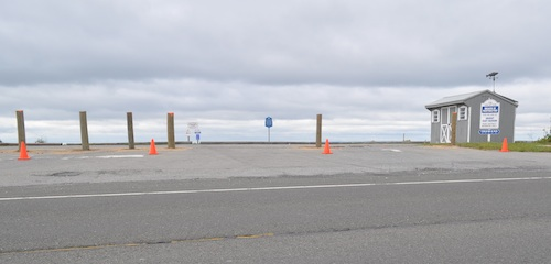 Truman Beach in East Marion is being renovated. (Cyndi Murray photo)