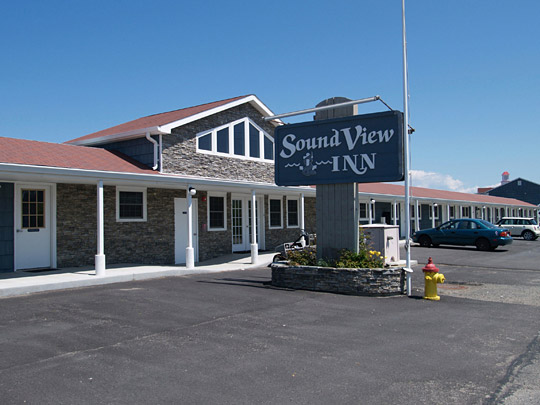 The Soundview Inn and Restaurant in Greenport.