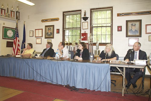 The village board  (Cyndi Murray file photo)