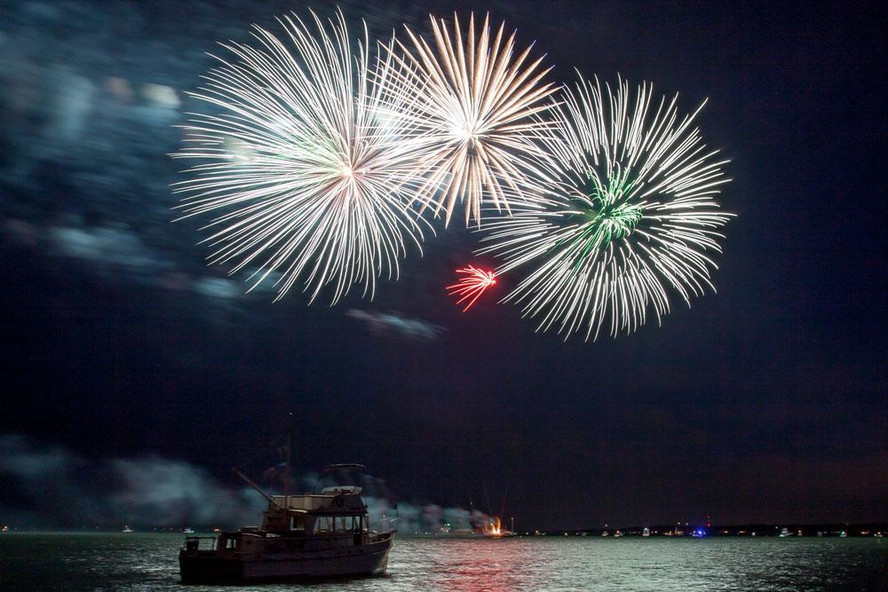 Fireworks in Orient