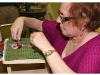Rug hooking workshop at Suffolk County Historical Society