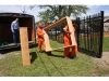 Inmate-built flowerbeds delivered downtown