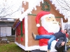 Riverhead BID unveils gingerbread house on wheels