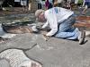Riverhead's Community Mosaic/Street Painting Festival